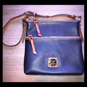 Leather DOONEY & BOURKE Crossbody Purse / Bag